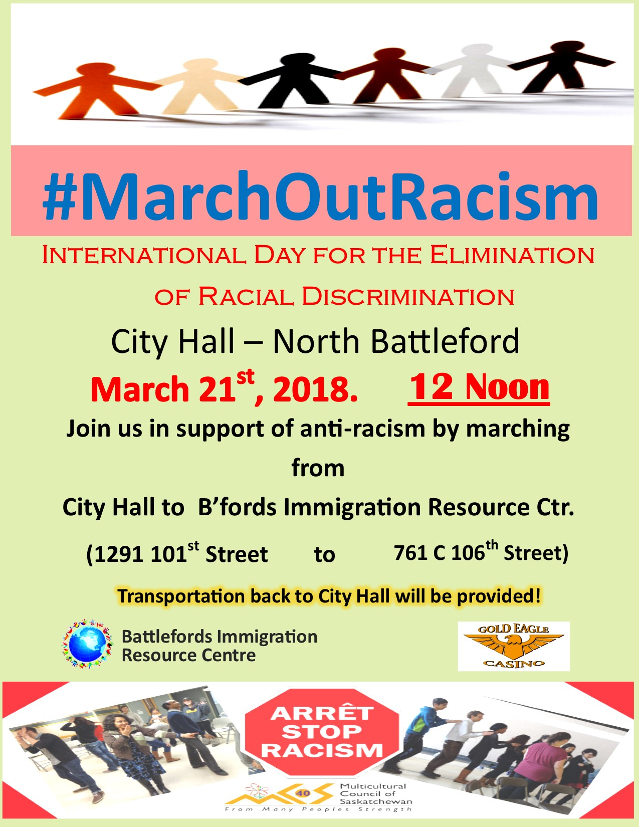 March out Racism