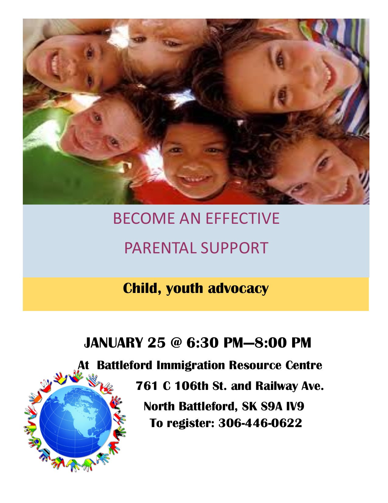 BECOME AN EFFECTIVE PARENTAL SUPPORT